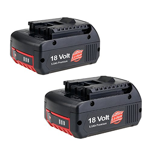 FLYLINKTECH 2 Pack RB18L50 P108 18V 5.0Ah Lithium Battery with Recharge Indicator for Ryobi ONE+ Tools RB18L40 RB18L25 RB18L15 RB18L13 P108 P107 6941260447348