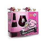 Rince cochon rouge 1 verre 50cl rouge + 3 bouteilles