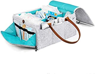 HyFanStr fieltro pa/ñales Caddy organizador bolsa de toallitas para beb/é Nursary Storag papelera beige