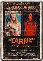 キャリー映画 金属板ブリキ看板注意サイン情報サイン金属安全サイン警告サイン表示パネル