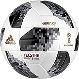 Adidas FIFA Coupe du Monde de Football Junior Ball 4 Blanc/Noir/argenté