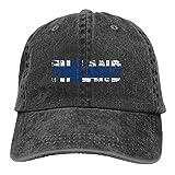 Gorra de béisbol de Finlandia Gorras de Vaquero - Ajustable Moda Hip Hop Jeans Sombrero para Hombres Mujeres