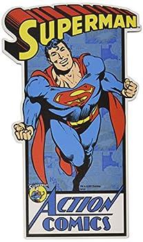 Silver Buffalo SP8306 DC Comics Superman  Take Off  Die Cut Wood Wall Art 15.5 x 8 inches
