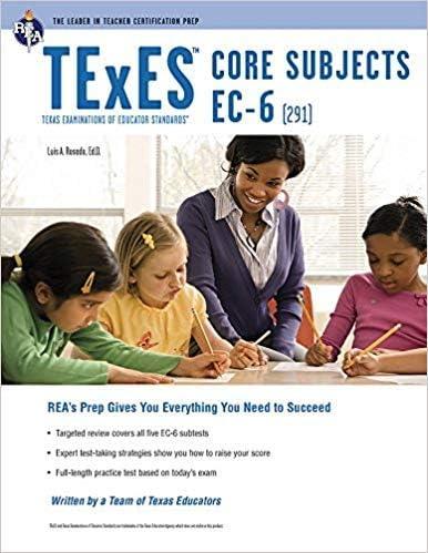 Tulsa Mall 0738611999 9780738611990 TExES Max 50% OFF Core TEx EC-6 291 Subjects