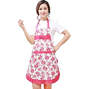 Customer reviews VLUNT Hot Lovely Waterproof Cheap Funny Aprons Pink Girls Women Cupcake Shop Fashion Apron with Pocket:Kisaran