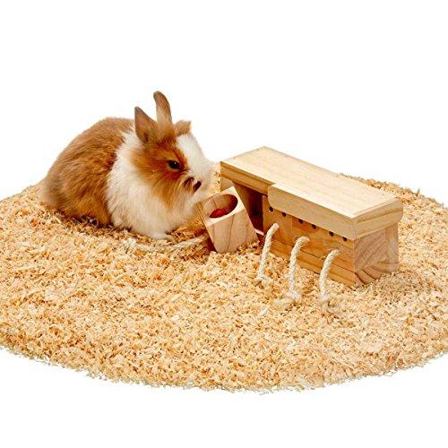 Karlie 84344 Intelligenzspielzeug Kasten Mit 4 Klötzen Für Kaninchen