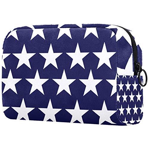 Kosmetische Reisetasche, Schminktasche, Schminktasche, Geburtstagsgeschenk, Jubiläumsgeschenk - Pentagramm