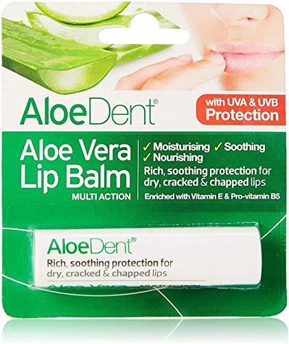 Optima Aloe Dent Aloe Vera Lippenbalsem Stick, 4 g