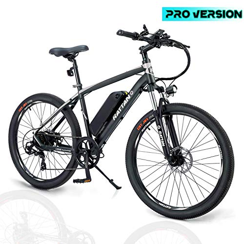 Rattan Challenger Pro 26 Inch Electric Bicycle 36V 10.4AH Removable Lithium-ion Battery 350W...