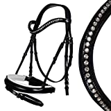 HKM 4057052255724 - Trenino da equitazione -Lady-9100, colore: Nero