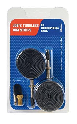 Joe's Flats Kit Convertidor A Rueda Tubeless, Unisex Adulto, Negro, 17-21 mm