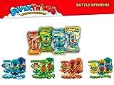 SUPERTHINGS RIVALS OF KABOOM- Battle Spinners Serie 7 2 Figuras exclusivas SBattle, Multicolor...