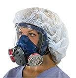 Msa Safety Sales, Llc - 10028995 Medium Advantage 3200 Series Full Face Air Purifying Respirator, Black