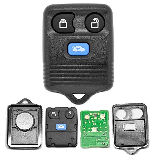Autosleutel afstandsbediening 1x behuizing 1x toetsenbord + 1x 434 MHz zender zender + 1x batterij voor Ford
