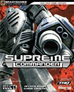 Supreme Commander Official Strategy Guide de BradyGames