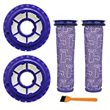 FATATP Replacement Parts for Dyson DC41 DC65 DC66 UP13 UP20 Vacuum Cleaners, Compare to Part 920640-01 & 920769-01, 2 Sets Pre-Motor Filters & Post-Motor Filters Kit