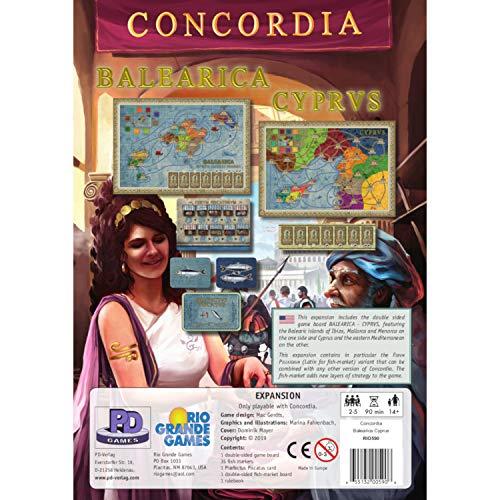 Concordia: Balearica/Cyprus