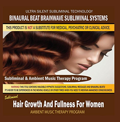 Hair Growth And Fullness For Women - Subliminal & Ambient Music Therapy