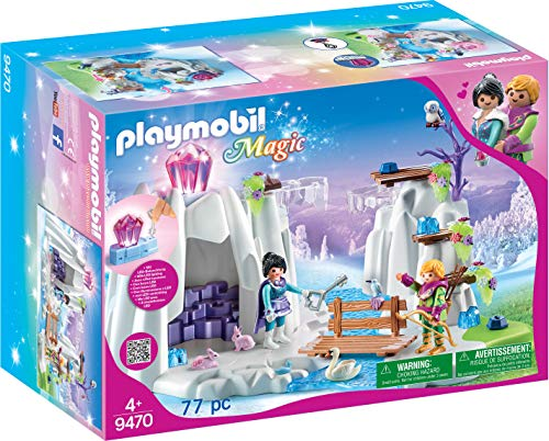 Playmobil - Búsqueda del Diamante de Cristal Juego con Accesorios, Multicolor (9470)
