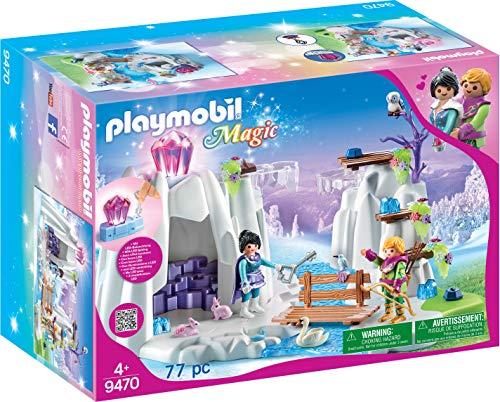 PLAYMOBIL Magic 9470 Suche nach dem Liebeskristall mit Leuchtkristall, Ab 4 Jahren