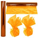 """Cellophane Wrap Roll Gold 