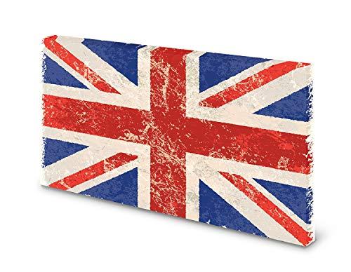 Magnettafel Pinnwand Bild England Fahne Flagge Union Jack Größe 100 x 80 cm