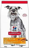 ヒルズ サイエンス・ダイエット ドッグフード 肥満傾向の高齢犬用 シニアライト 7歳以上 小粒 チキン 12kg