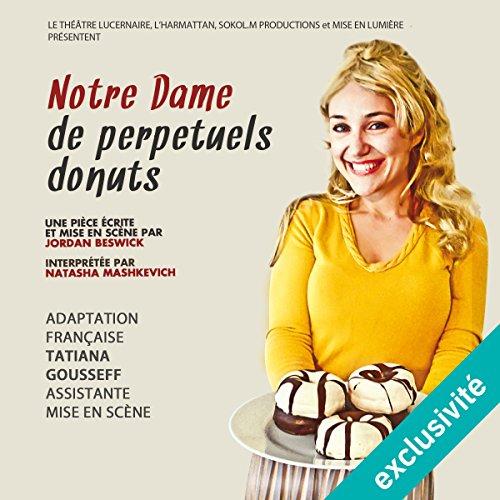 Notre Dame de pepétuels donuts audiobook cover art