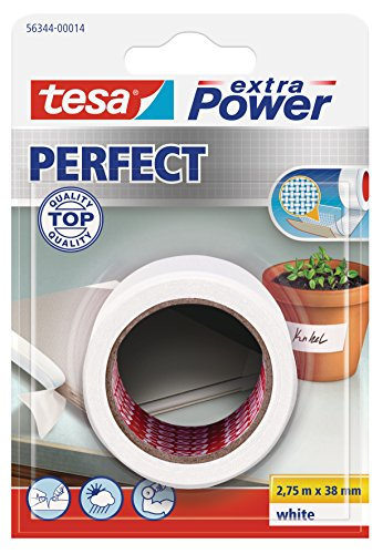 tesa extra Power Perfect weiß Blister