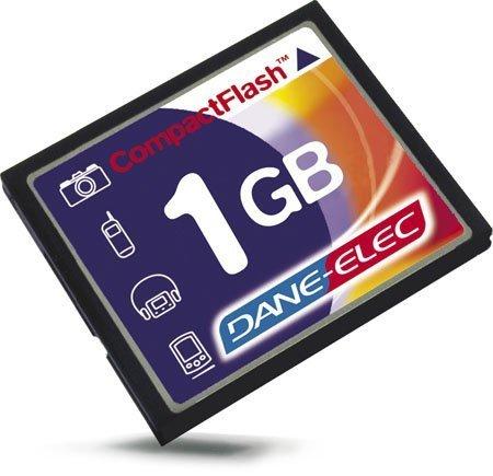 Dane-Elec 1024MB CompactFlash Card Memoria Flash - Tarjeta de Memoria