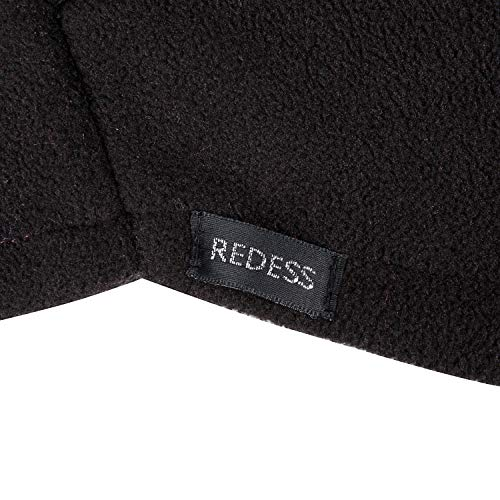 REDESS Kids Winter Windproof Hat, Unisex Children Heavyweight Balaclava, Ski Mask With Thick Warm Fleece Face Cover For Kids Black