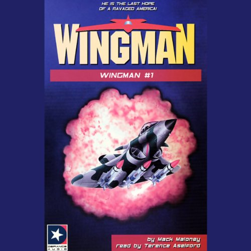 Wingman #1 audiobook cover art
