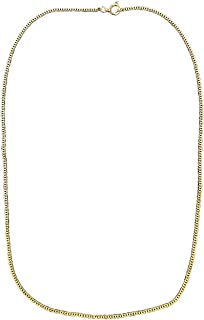 18 inch Gold Necklace - American Made