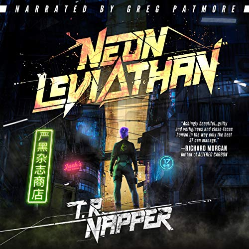 Neon Leviathan audiobook cover art