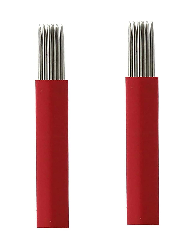 San Francisco Mall 50Pcs Disposable Eyebrow Microblading Lip Microbl Tattoo Needles Max 40% OFF