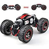 NQD RC Car Off-Road Vehicles Rock Crawler 2.4Ghz Remote Control Car Monster Truck 4WD Dual Motors Electric Racing Car, Toys RTR Rechargeable Buggy Hobby Car (Red)