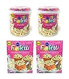 Pillsbury Funfetti Strawberry Cake and Cupcake Mix and Unicorn Funfetti Vanilla Icing Variety Pack -...