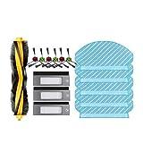 NICERE Partes de aspirador reemplazos filtros cepillo trapeador set para Deebot T5 DX55 Partes de aspirador reemplazo hogar Accesorios