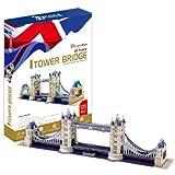 London Tower Bridge - World Great Architecture - 120 Pieces 3D Puzzle - Cubic... (japan import)
