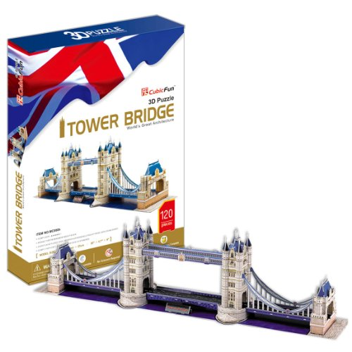 3D three-dimensional puzzle Tower Bridge (japan import)