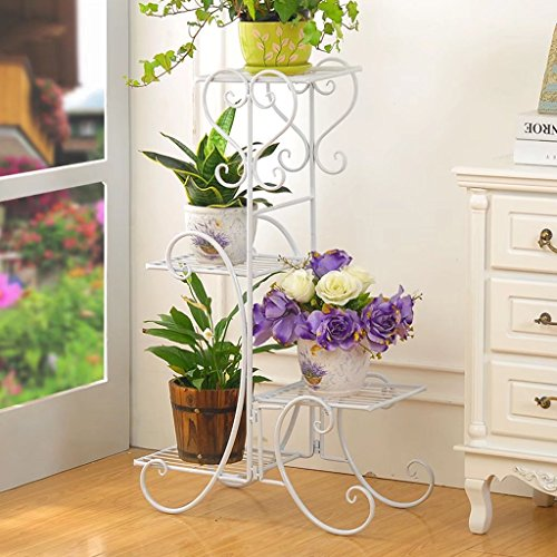 KK- Châssis en fleurs artificielles salon intérieur et extérieur plus étagère de radis de viande et de fleurs étagère à fleurs à plusieurs étages étagères à fleurs de style européen