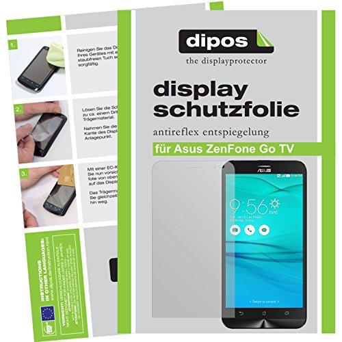 dipos I 6X Schutzfolie matt kompatibel mit Asus ZenFone Go TV Folie Bildschirmschutzfolie