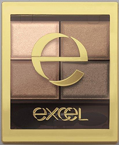 excel(エクセル) エクセル スキニーリッチシャドウ SR04 スモーキーブラウン