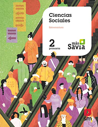 Ciencias sociales. 2 Primaria. Mas Savia. Extremadura