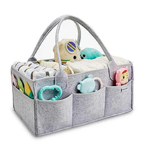 Clearworld Baby Diaper Caddy Organizer - Baby Shower Gift Basket for Changing...