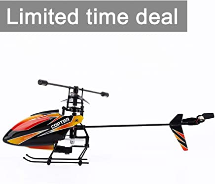 $38 Get OCDAY WLtoys V911 4 Channels 2.4GHz Mini RC Helicopter Gyro RTF Radio Single Propeller Stunt Copter with 2 Batteries