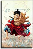 Art Poster and Wall Art Picture One Piece Luffy Wano Anime Poster Anime Canvas Print Abstract Pictures Paintings Modern Family Bedroom Decor Posters (80x100cm) No Frame