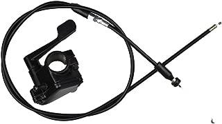 Minireen 7/8'' 22mm Metal Thumb Throttle Cable Accelerator Handle Assembly For Chinese 50cc 70cc 90cc 110cc 125cc 250cc ATV Quad Go Kart