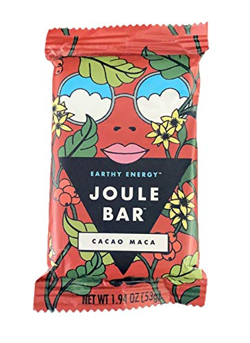 Cacao Maca | Earthy Energy | Paleo + Keto Friendly Cacao Maca Protein Bar - Gluten Free Protein Bars - Natural Vegan Protein Bars Snacks For Women - Low Sugar