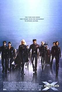 X Men 2 Original 27 X 40 Theatrical Movie Poster